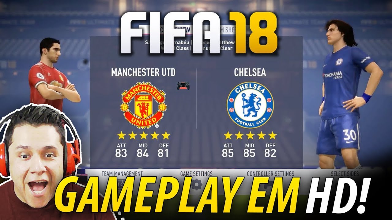 Fifa 18 manchester united vs chelsea full gameplay em hd fifa 18 manchester united vs chelsea full gameplay em hd 1080p voltagebd Image collections