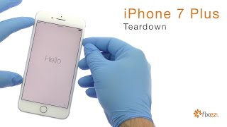 iPhone 7 Plus Teardown and Reassemble Guide - Fixez.com