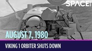 OTD in Space – August 7: Viking 1 Orbiter Shuts Down