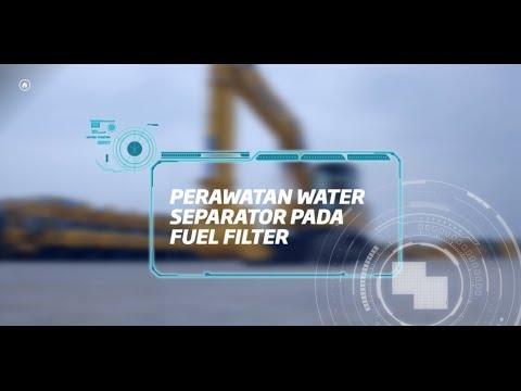 #unitedtractors - Perawatan Water Separator Pada Fuel Filter