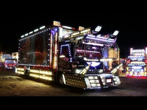 Dekotora Trucks: Japanese Semi Truck [2018]