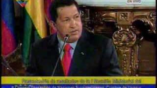 Chavez amenaza en meterse en conflicto Boliviano