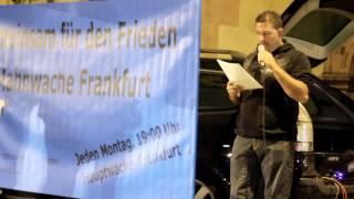 13.10.14 - Mahnwache für den Frieden - Frankfurt/Main
