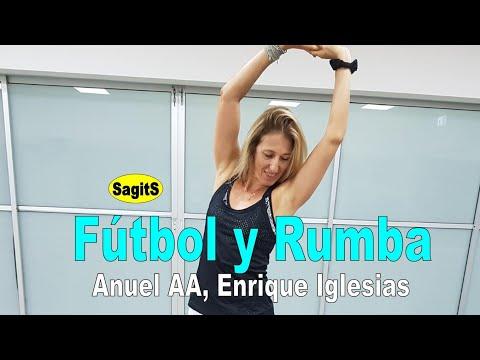Fútbol y Rumba – Enriqu EIglesia, Anuel AA,  | SagitS Zumba