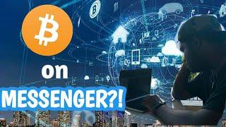 Send Bitcoin (BTC) Using Facebook Messenger, Telegram, and Text