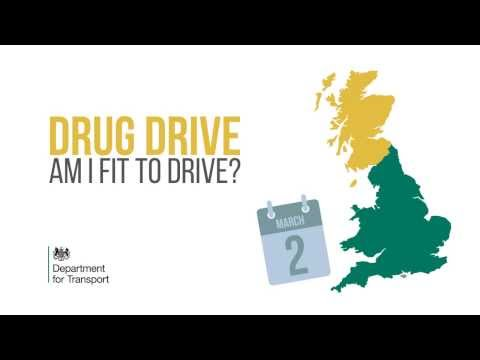 Drug drive law: Am I fit to drive?