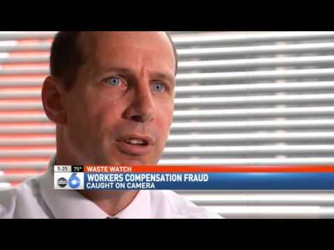 WASTE WATCH: Workers Compensation Fraud Caught on Camera