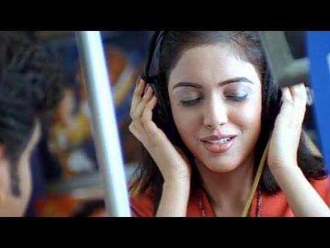 Shivamani Telugu Movie  Nagarjuna Scoliding Asin At Music Shop Comedy