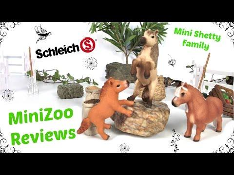 Schleich Mini Shetty Horses 2015