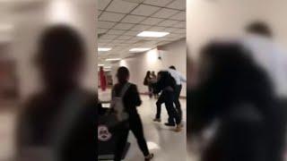 إعتقال شاب بعد تنفيذ حركة RKO علي مدير مدرسته - في الحلبة