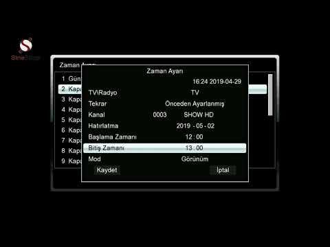 Sine+ 2200 HD Uydu Alıcısı Tanıtımı Sineshop Com