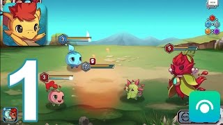 Monster Raid - Gameplay Walkthrough Part 1 - Jackal Island: Roads of the Prairie (iOS, Android)