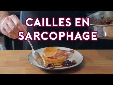 Binging with Babish: Cailles en Sarchophage from Babette's Feast