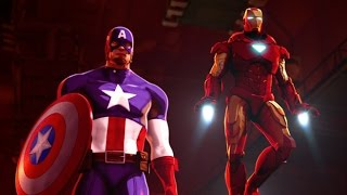 iron man and captain america heroes united 2014 film