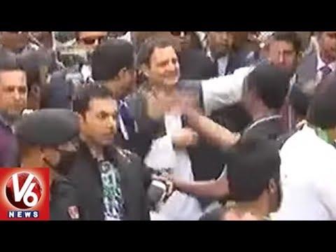 Congress President Rahul Gandhi Conducts Roadshow In Shillong | Meghalaya | V6 News