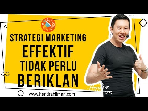 Coach Hendra Hilman -  Strategi Marketing Effektif TIDAK PER