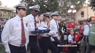 Veteran's Day Flag Retreat Ceremony (2 of 2) Disneyland Resort