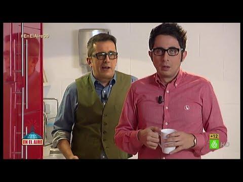 """En el aire -  Andreu a Berto: """"Estás flojo, ¿no? Igual se te nota lo de los Goya"""""""