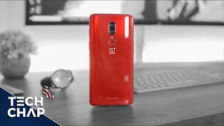 OnePlus 6 RED Unboxing - LIMITED EDITION | The Tech Chap