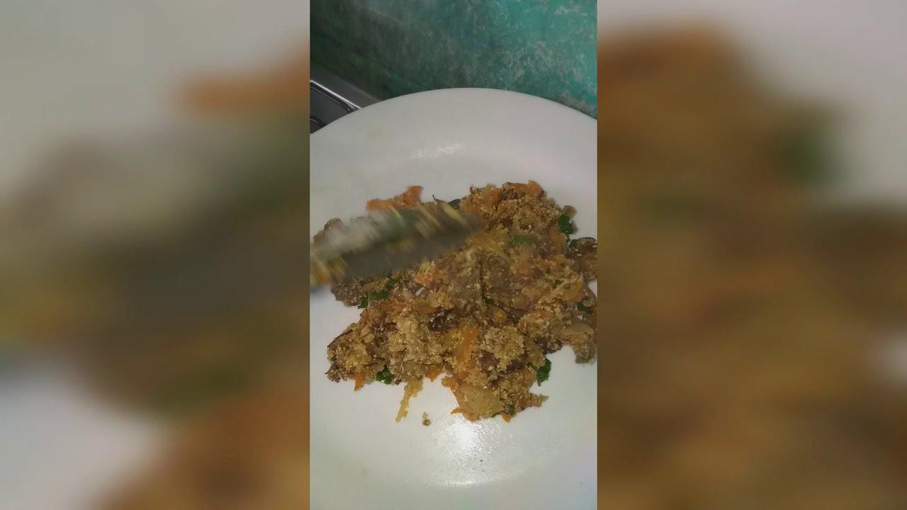 farofinha como aproveitar sobras de carne