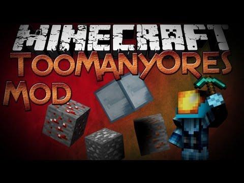 Minecraft Mod Showcase: TooManyOres - More Ores!