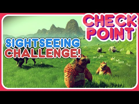 NO MANS SKY: SIGHTSEEING CHALLENGE | Get Involved &  Challenge Your Favourite YouTubers - Checkpoint