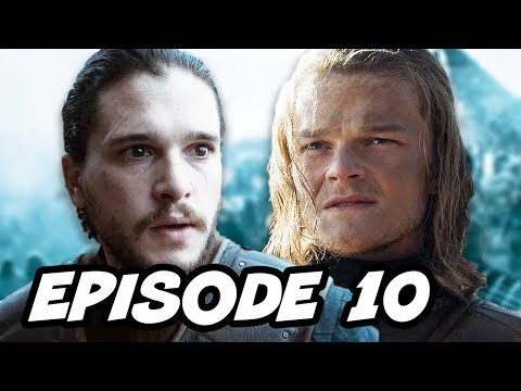 Game Of Thrones Season 6 Episode 10 - Finale TOP 10 WTF And Book Changes