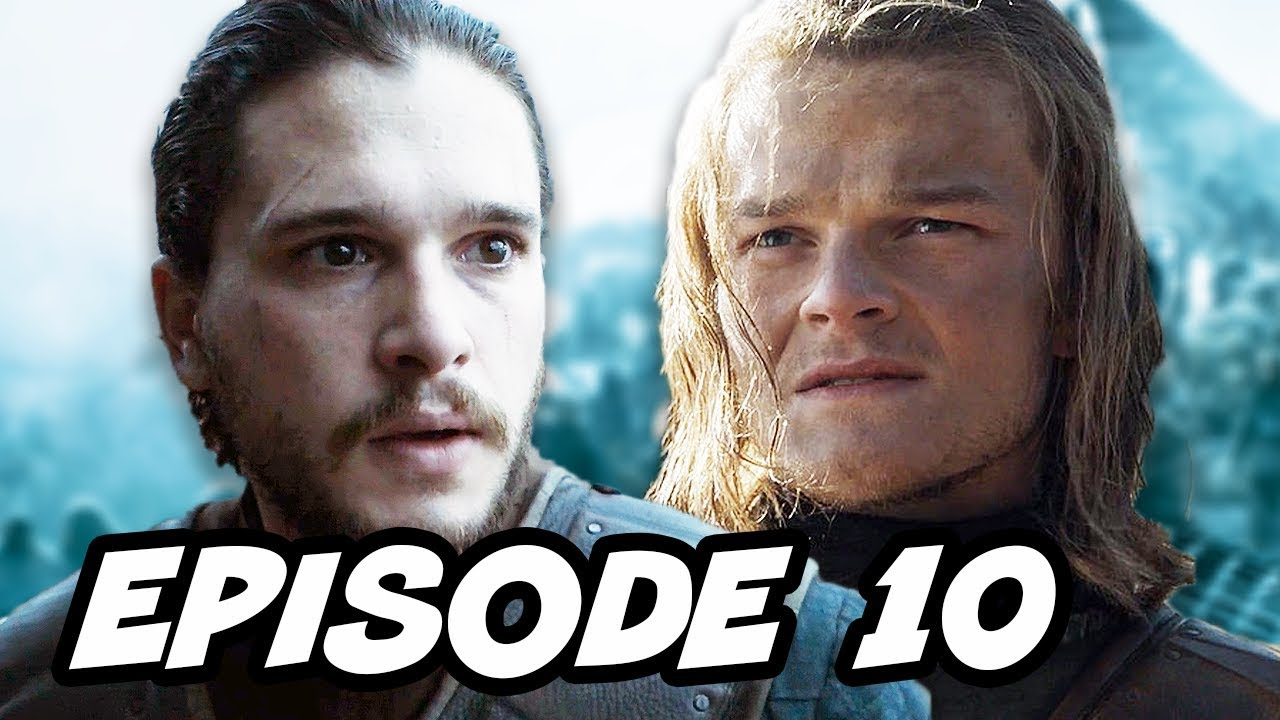 Download Game Of Thrones Season 6 Episode 10 - Finale TOP 10 WTF and Book Changes