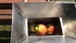 Krossa äpplen effektivt - Äppelkross RS-2
