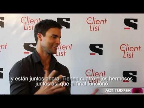 Entrevista con Collin Egglesfield, actor en The Client List