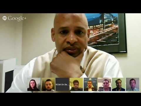 NCAA 6th Fan - Hangout On Air with Clark Kellogg