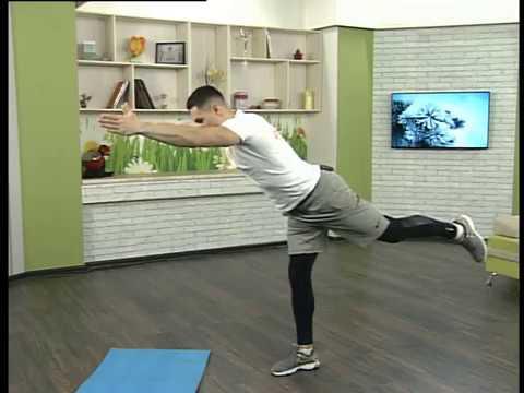 Ранок-панок. Вправи для рівноваги та балансу тіла