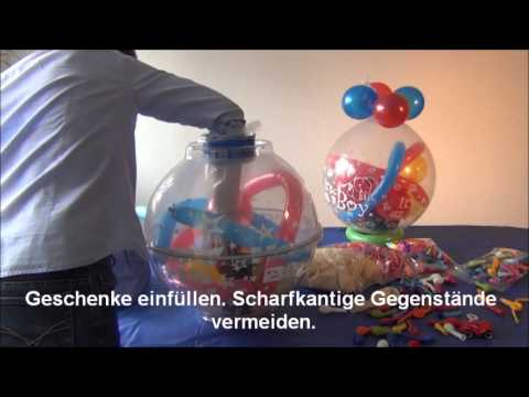 Anleitungsfilm Verpackungsballons Karaloon Youtube