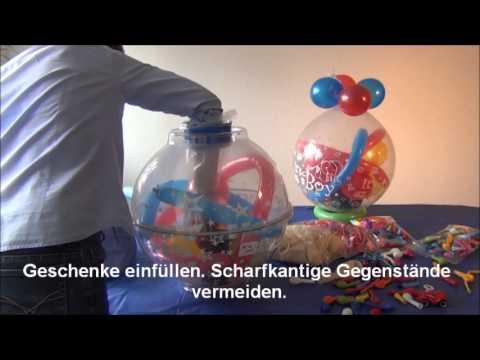 anleitungsfilm verpackungsballons karaloon youtube. Black Bedroom Furniture Sets. Home Design Ideas