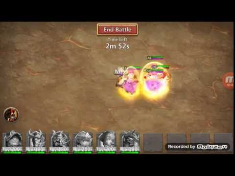 Castle Clash Boss 5 - Two Full Runs - Strategy And Heroes