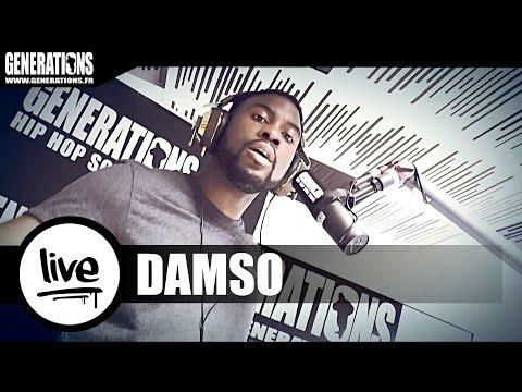 Damso - Peur D'être Sobre (Live des studios de Generations)