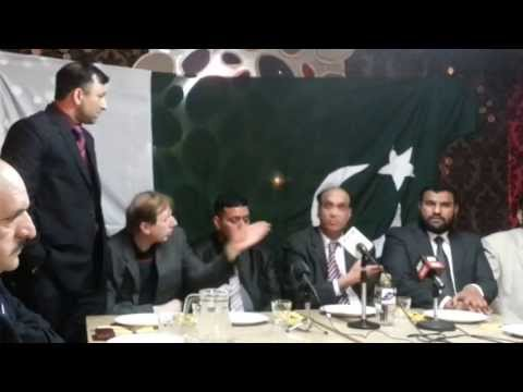 Syed Tasawar Naqvi JS Pmlnuk Youthwing speech in Birmingham:Coverage by cniuk