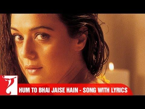 Lyrical: Hum Toh Bhai Jaise Hain Song with Lyrics | Veer-Zaara | Preity Zinta | Javed Akhtar
