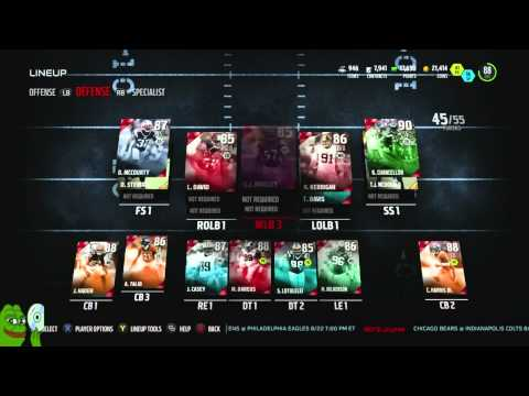 Madden 16 Ultimate Team-We SNIPED 94 Ovr Legend Bruce Smith!89 Overall!-XBOX ONE Madden 16 MUT
