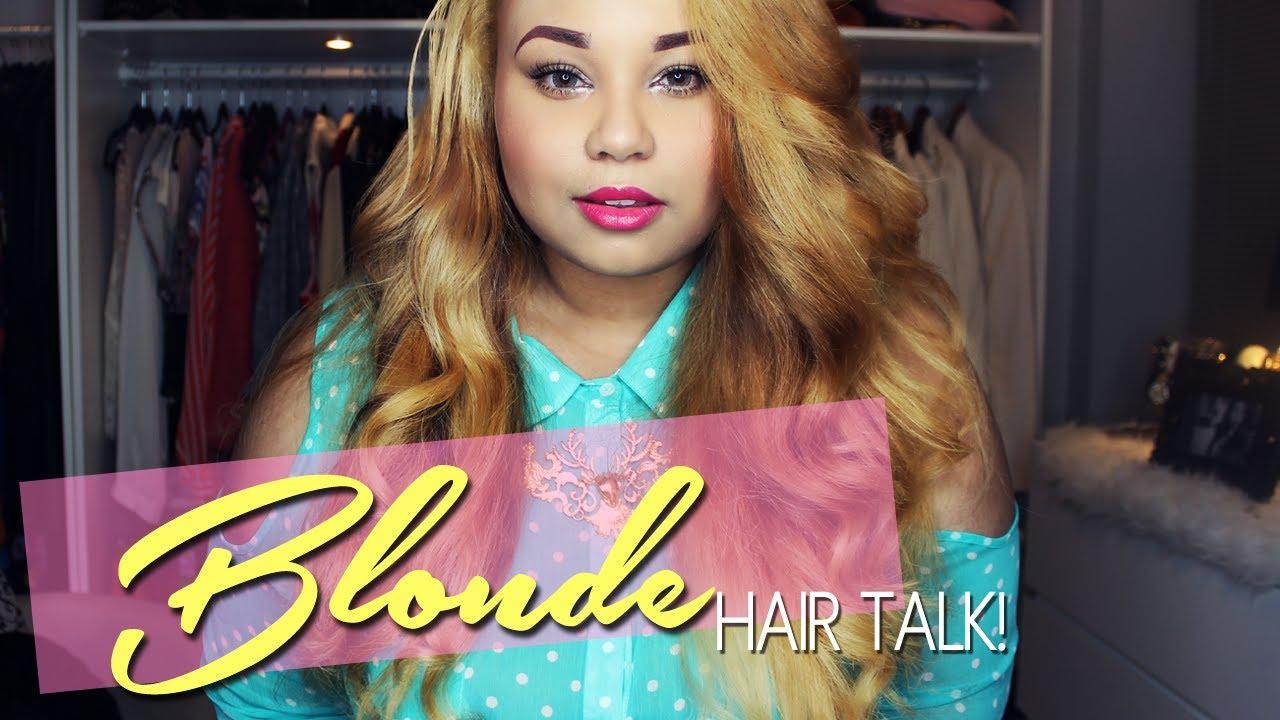 Im Blonde Hair Talk Amp Tutorial Herhaircompany Youtube