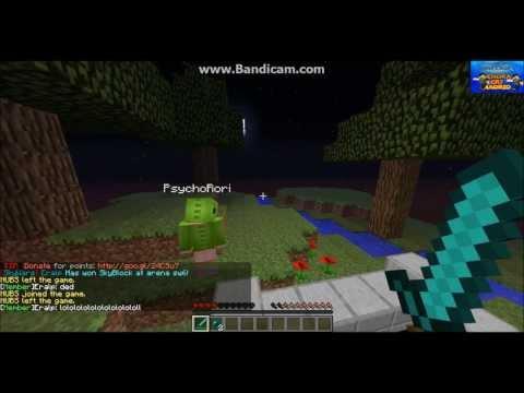 Minecraft Skywars 4 with fian!!