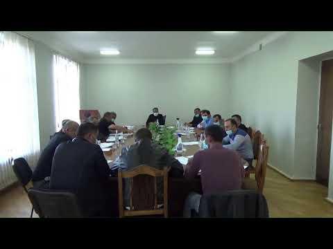 Եղվարդ համայնքի ավագանու նիստ 14․10․2021թ․