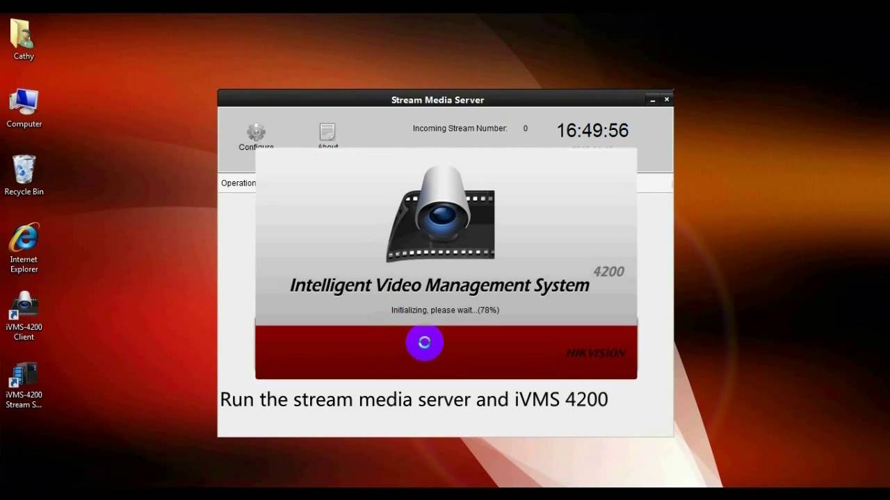 Is it possible to connect to Hikvision Stream Media Server from