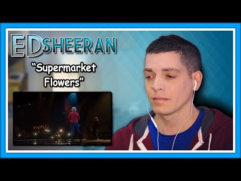 "Ed Sheeran Reaction | ""Supermarket Flowers""Live from the BRITs 2018"