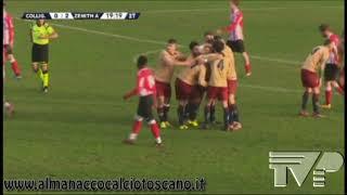 Eccellenza Girone B Colligiana-Zenith Audax 0-4