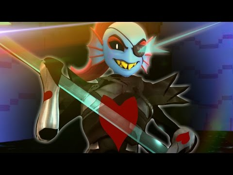 3D UNDYNE THE UNDYING GENOCIDE BATTLE!! | YABTS: Yet Another Bad Time Simulator