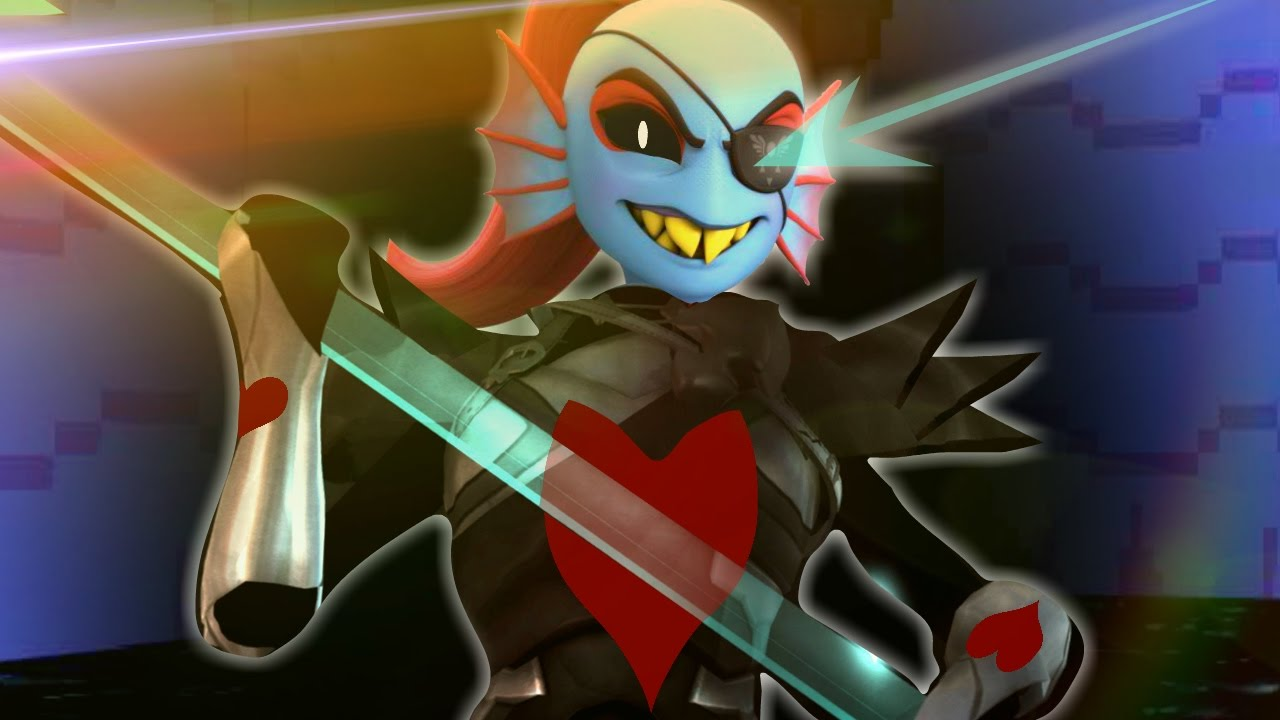 3D UNDYNE THE UNDYING GENOCIDE BATTLE!! | YABTS: Yet Another Bad