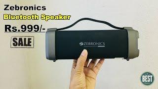Zebronics Zeb-Axon Bluetooth Speaker Rs.999/-.