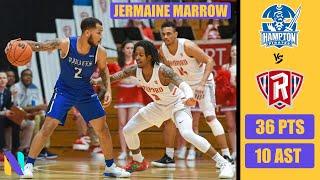 Jermaine Marrow Hampton Pirates 36 PTS 10 AST vs Radford | Next Ones