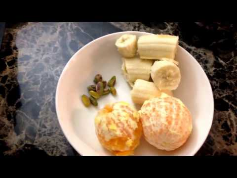 Orange Banana Smoothie In Two Minutes